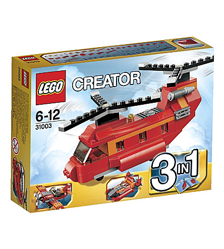LEGO Red Rotors