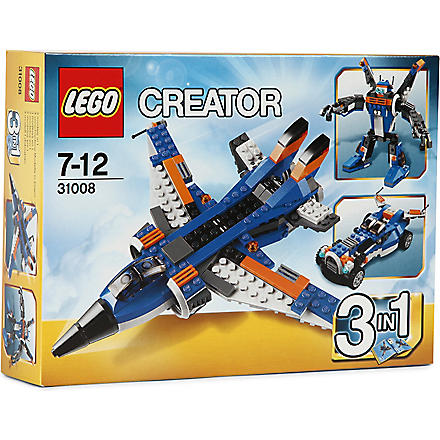 LEGO Thunder Wings jet 3-in-1