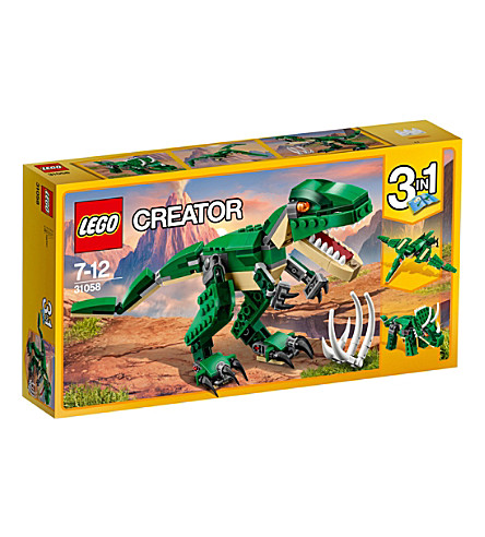 LEGO Creator Mighty Dinosaurs model
