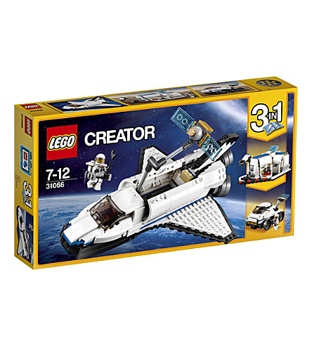 LEGO Lego creator space shuttle explorer