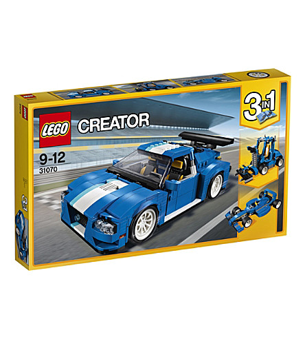 LEGO Lego creator turbo track racer