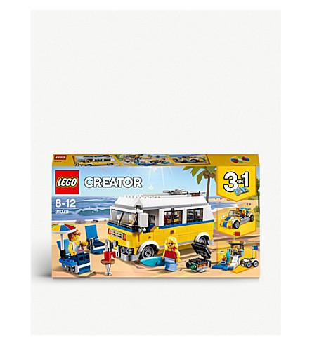 LEGO Creator 3-in-1 Sunshine Surfer van