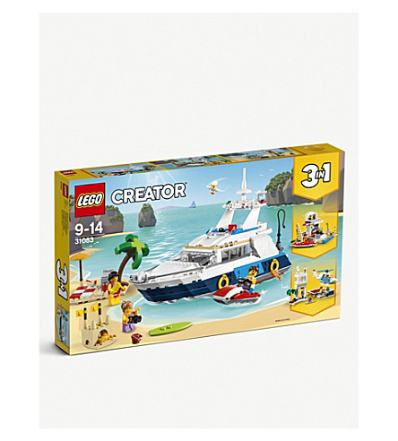 LEGO Cruising Adventures 3-in-1-set