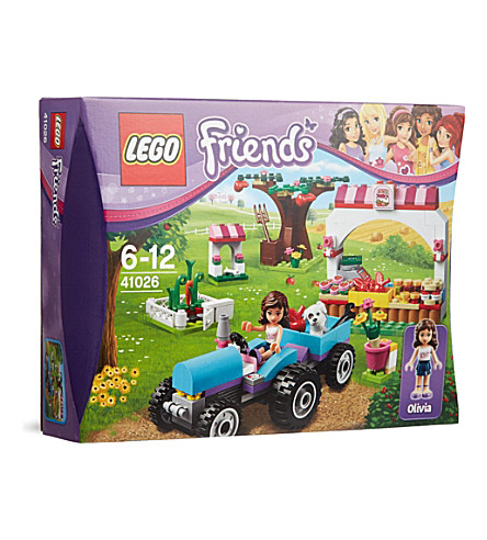 LEGO Friends: Olivia's sunshine harvest