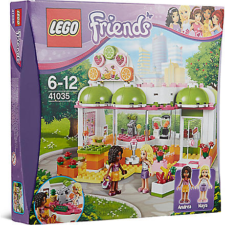 LEGO Friends Andrea & Nya's juice bar