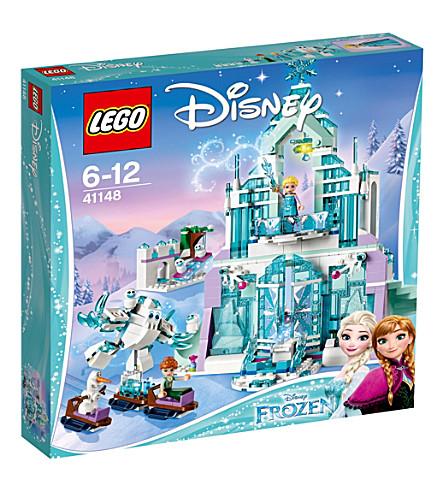 LEGO DISNEY埃尔莎魔法冰宫套装