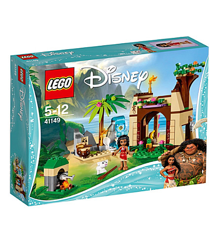 LEGO Disney Moana's Island Adventure set