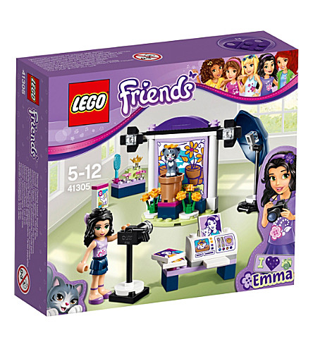 LEGO Friends Emma's photo studio set