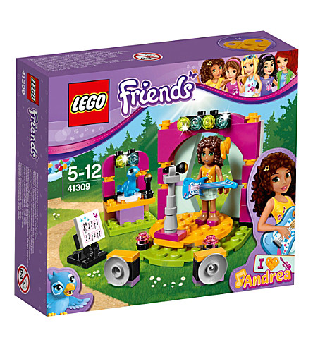 LEGO Friends Andrea's Musical Duet set