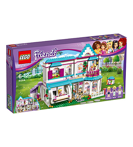 LEGO Friends Stephanie's House set