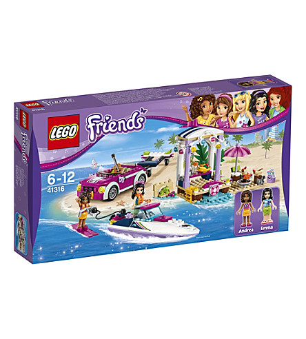 LEGO Lego friends andreas speedboat