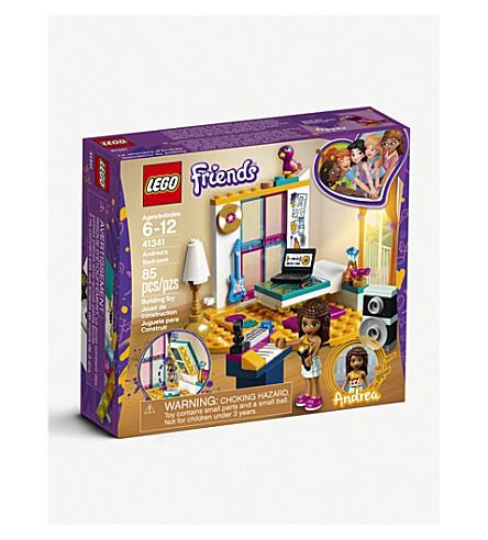 LEGO Andrea's musical bedroom set