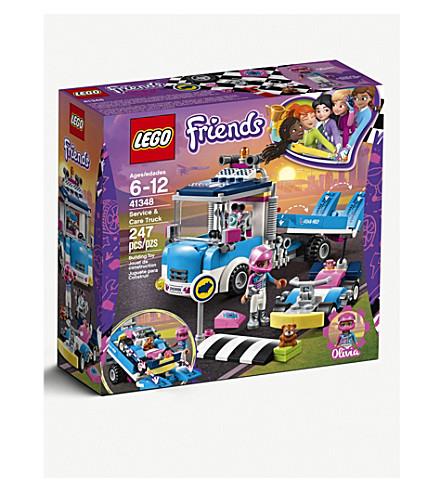 LEGO服务 & 保养车芭比
