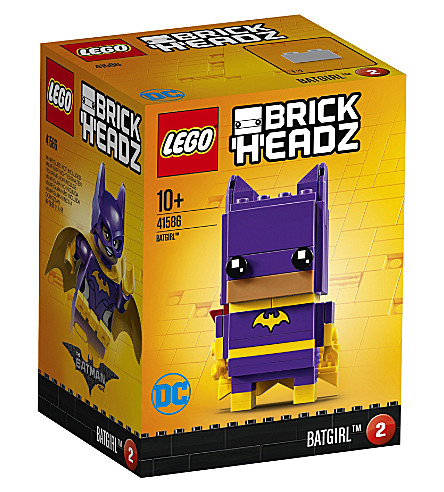 LEGO Brick headz batgirl figure