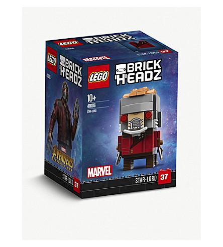 LEGO Avengers: Infinity War Star-Lord BrickHeadz 7cm