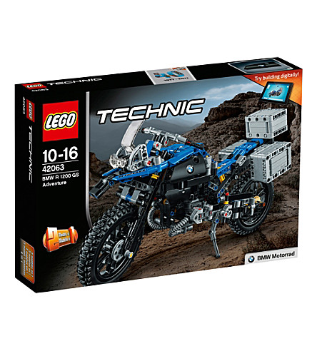 LEGO Technic BMW R 1200 GS replica