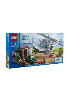 LEGO Lego City Police helicopter surveillance team
