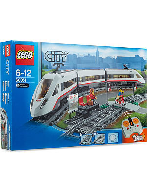 LEGO High-speed Passenger Train set