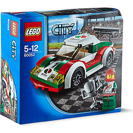 LEGO City town race car