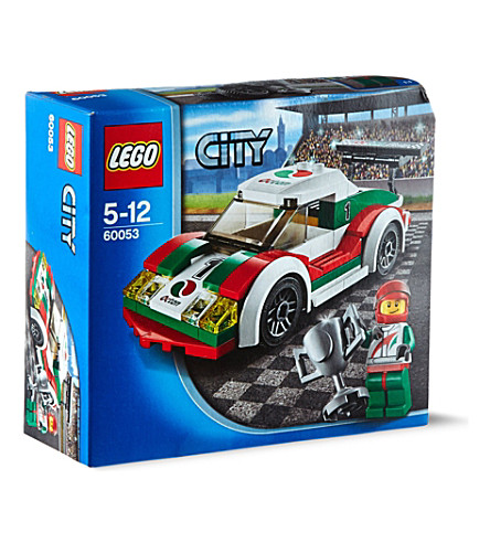 LEGO City town race car