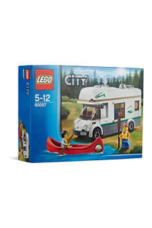 LEGO City camper van canoe set