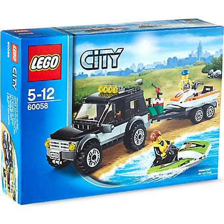 LEGO City Town suv & watercrafts