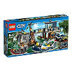 LEGO City police swamp station set