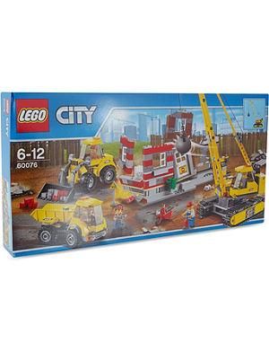 LEGO Demolition site playset