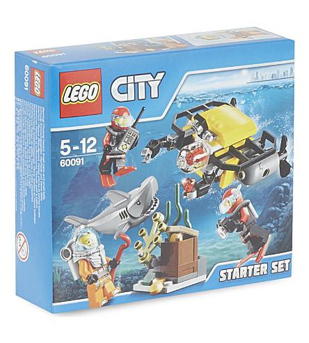LEGO Lego city deep sea starter set