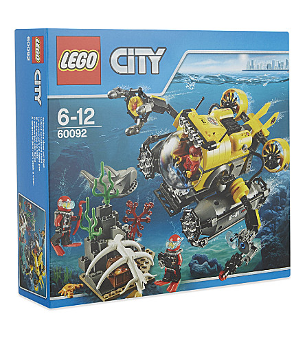 LEGO Lego city deep sea submarine