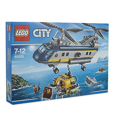 LEGO Lego city deep sea helicopter