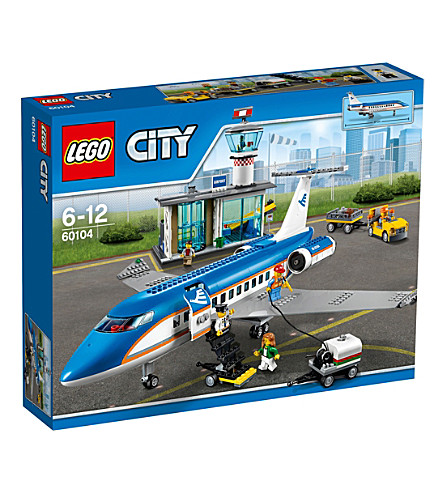 LEGO Lego city airport passenger terminal