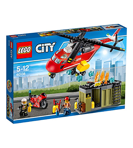 LEGO City fire esponse unit