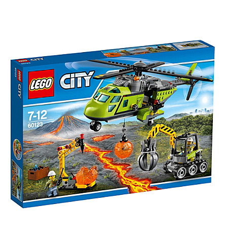 LEGO Lego city volcano supply helicopter