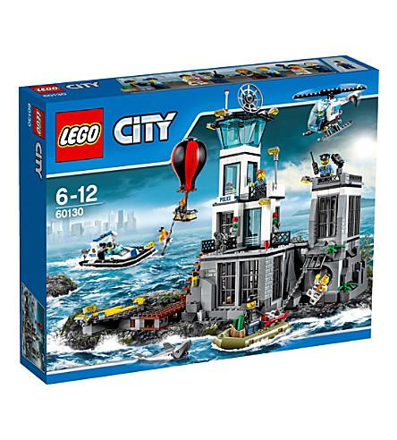 LEGO City police prison island