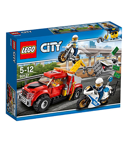 LEGO Lego City Police tow truck trouble set