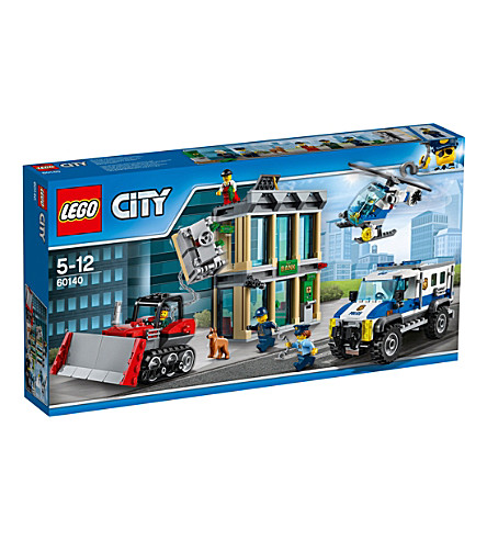 LEGO Lego City Police bulldozer break in set