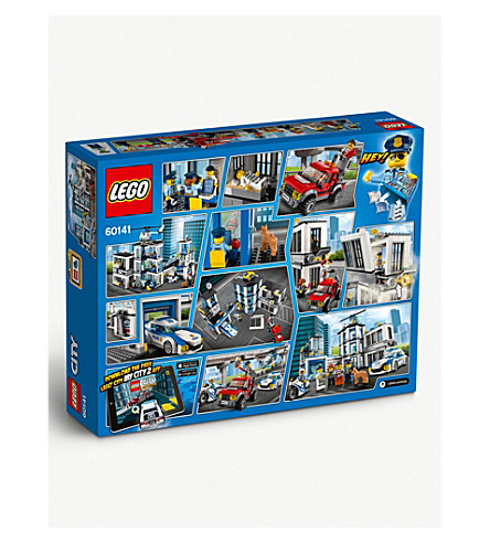LEGO Lego City police station set