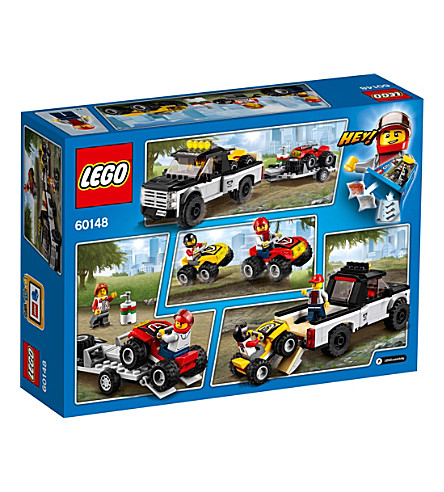 LEGO City ATV race team