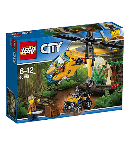 LEGO Lego city jungle cargo helicopter set
