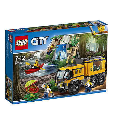 LEGO Lego city jungle mobile lab set