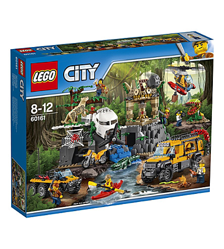 LEGO Lego city jungle exploration site set
