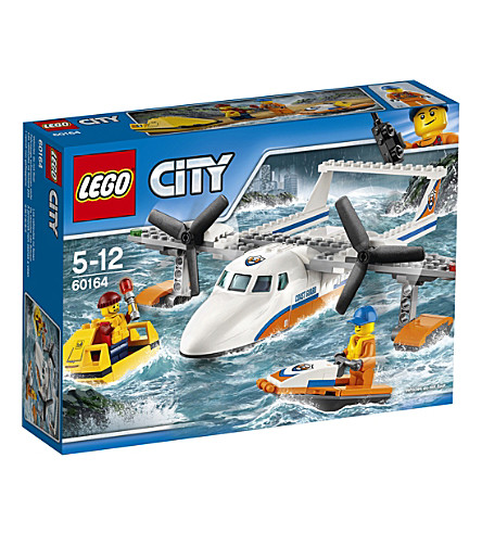 LEGO Lego city sea rescue plane