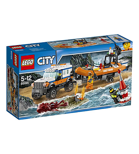 LEGO Lego city 4x4 response unit