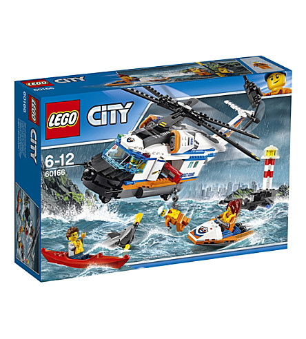 LEGO Lego city heavy duty rescue helicopter (3)