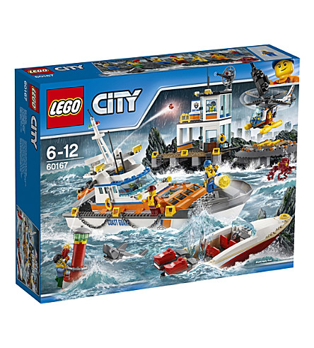 LEGO City Coast Guard Headquarters play set