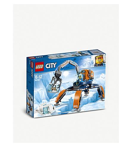 LEGO北极冰履带芭比