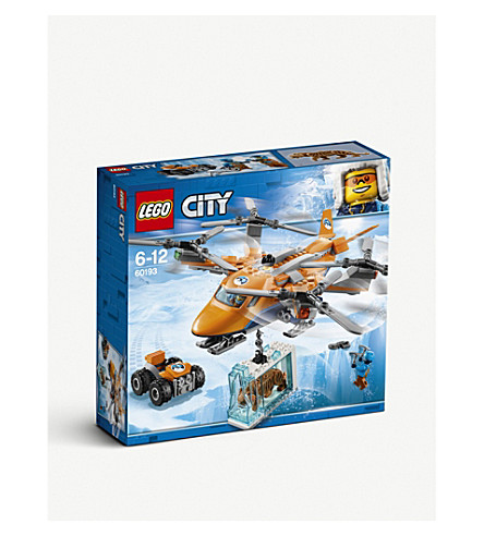 LEGO北极航空运输芭比