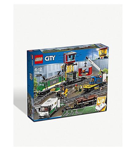 LEGO 城市货运列车套装