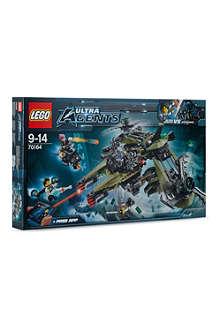 LEGO Ultra Agents Hurricane Heist set